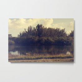 Meet Me By The Lake Metal Print