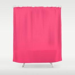 Solid color Bubble Gum Shower Curtain