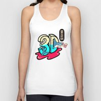 3d Tank Tops featuring ' 3D ' by Philip Morgan