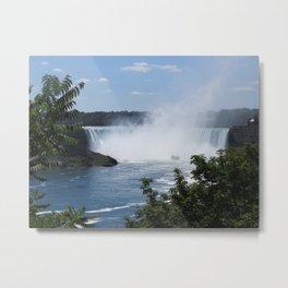 Horseshoe Falls at a Distance Metal Print