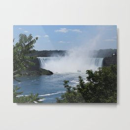 Horseshoe Falls at a Distance Metal Print