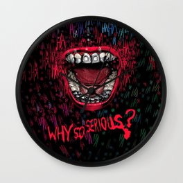 Why So Serious Wall Clock
