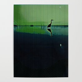 Marsh in Spring Poster