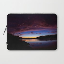Sunset Over The Lake Laptop Sleeve