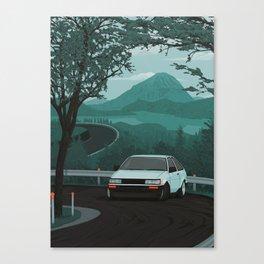 Mountain Pass Drift 01 Canvas Print