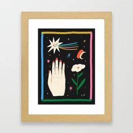 A Slow Process Framed Art Print