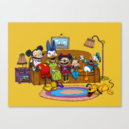 Psycouch2 Canvas Print