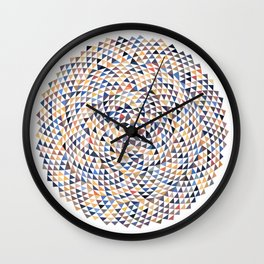 Phyllotaxis Triangles Wall Clock