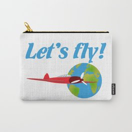 Let's fly Carry-All Pouch
