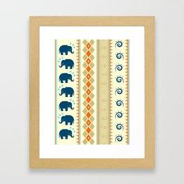 Ethnic Pattern Framed Art Print