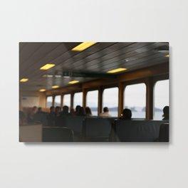 Ferry Metal Print
