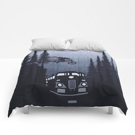 Over The Train Comforters