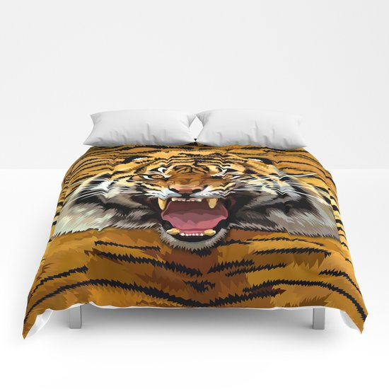 Tiger Roar iPhone 4 4s 5 5c 6, pillow case, mugs and tshirt Comforters