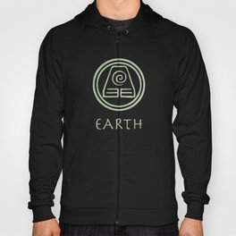 Avatar Last Airbender Elements - Earth Hoody