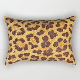Its a leopard pattern Rectangular Pillow