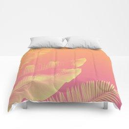 PEACHY LEAVES Comforters