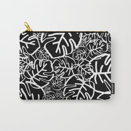 Black Palms Carry-All Pouch