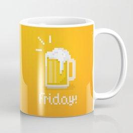 Pixel Friday Coffee Mug