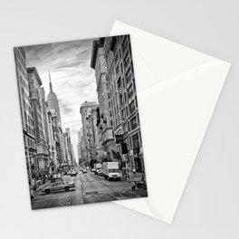 NEW YORK CITY 5th Avenue   Monochrome Stationery Cards