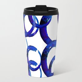 Enso Of Zen No. 21 by Kathy Morton Stanion Travel Mug