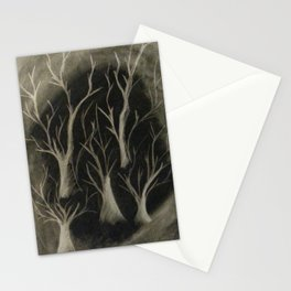 Smokey Trees Stationery Cards