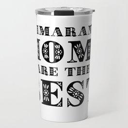 WEIMARANER MOMS Travel Mug