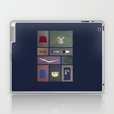 Eleven (Doctor Who) Colors Laptop & iPad Skin