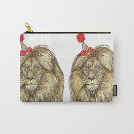 Lion Party Carry-All Pouch