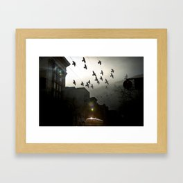 merged experience Framed Art Print