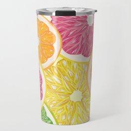 Citrus Fruits Travel Mug