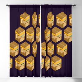 Wukong Clones Blackout Curtain