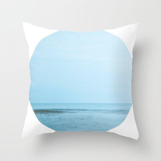 Nautical Porthole Study No.2 Throw Pillow