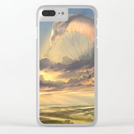 made of air Clear iPhone Case