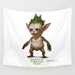 YT Troll - Revelations of Oriceran (C) Wall Tapestry
