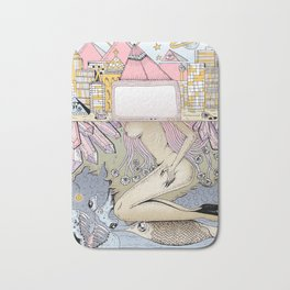 City Artwork Bath Mat