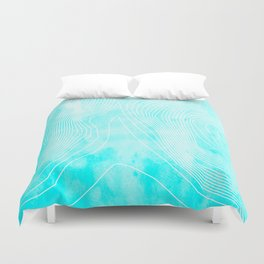 Topography - Everest Duvet Cover