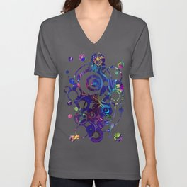 Fibroblasts - Watercolor Painting Unisex V-Neck