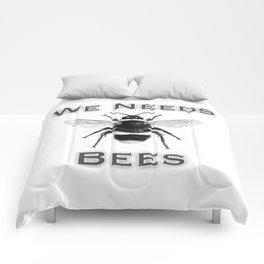 we needs bees Comforters