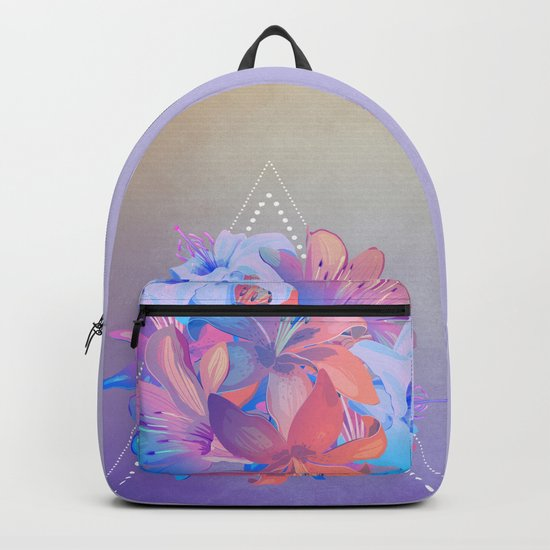 lily bouquet Backpack
