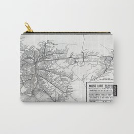 Pacific Electric Railway in Southern California Carry-All Pouch