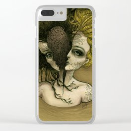 Two Lives Clear iPhone Case