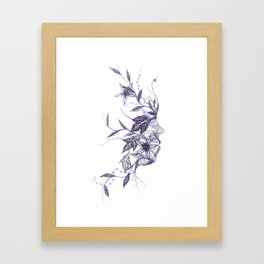 Face of Nature Framed Art Print