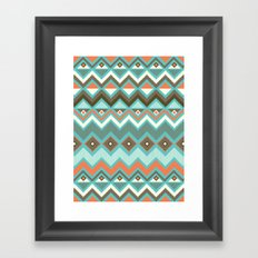Aztec Framed Art Print