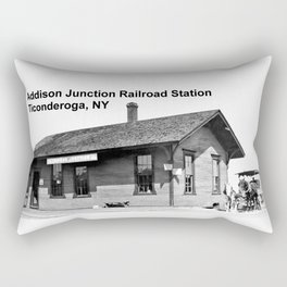 Addison Junction RR, Ticonderoga Rectangular Pillow