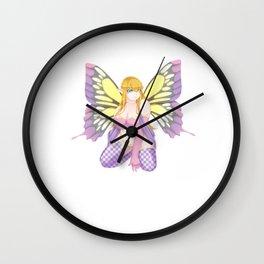 Breena | Chubby Fairy Fantasy | Mythology Anime Art Wall Clock