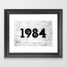 1984 Framed Art Print