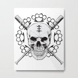 St. Cranium Metal Print