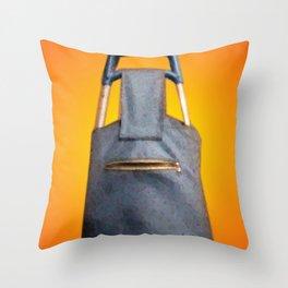 Tiki Luggage Throw Pillow