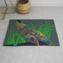 Colorful Lizard Rug
