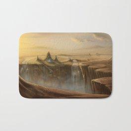 Canion Village Fantasy Landscape Bath Mat